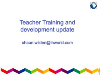 IH Teacher Training  IHWO The Olympics 2011 General Knowledge