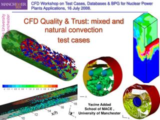 CFD Workshop on Test Cases, Databases & BPG for Nuclear Power Plants Applications, 16 July 2008.