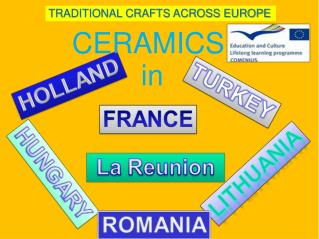 TRADITIONAL CRAFTS ACROSS EUROPE