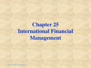 2002 Prentice Hall Publishing Chapter 25