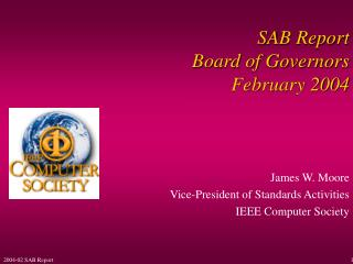 SAB Report Board of Governors February 2004