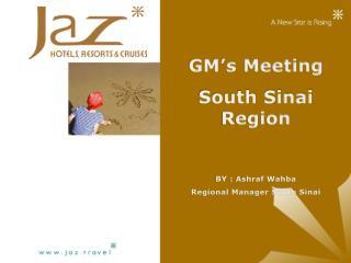 GM's Meeting South Sinai Region