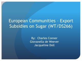 what drove the sugar trade 2 essay What drove the sugar trade sugar rush demand for sugar capital complimentary industries land & climate demand for sugar addiction (c, f) consumption (g.