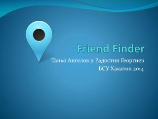 Friend Finder