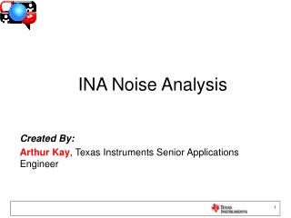 INA Noise Analysis
