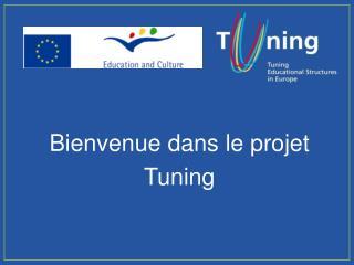 Bienvenue dans le projet  Tuning