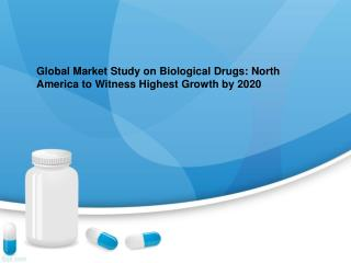 Biological Drugs Market Research Report and Global Forecast