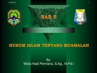 HUKUM ISLAM TENTANG MUAMALAH