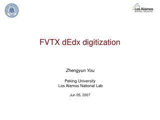 FVTX dEdx digitization