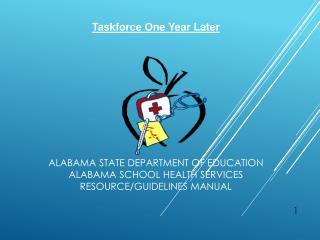 Alabama State Department of Education  A labama School Health Services  Resource/Guidelines Manual