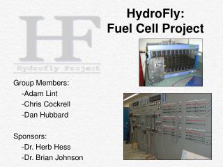 HydroFly:  Fuel Cell Project