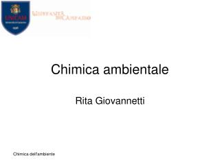 Chimica ambientale