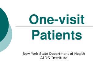 One-visit Patients
