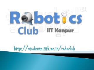 students.iitk.ac/roboclub