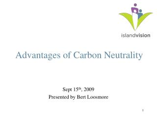Advantages of Carbon Neutrality