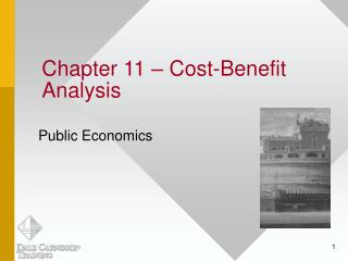 Chapter 11   Cost-Benefit Analysis