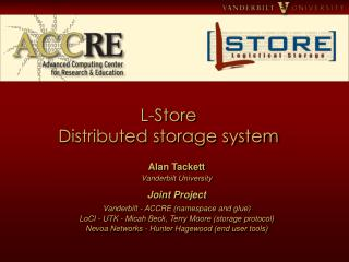 L-Store  Distributed storage system
