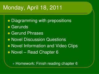 Monday, April 18, 2011