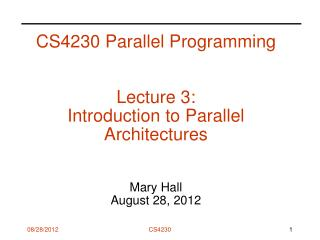 Homework 1: Parallel Programming Basics