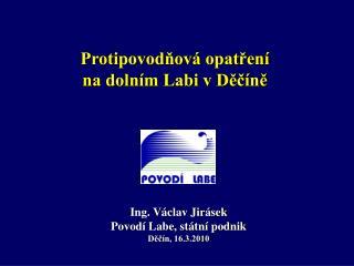 Protipovodňová opatření  na dolním Labi v Děčíně
