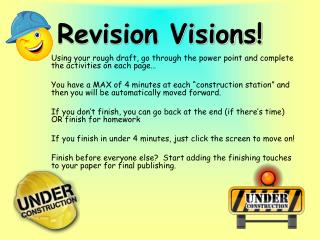 Revision Visions!