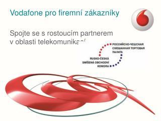 Vodafone pro firemní zákazníky