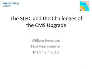 The SLHC and the Challenges of the CMS Upgrade