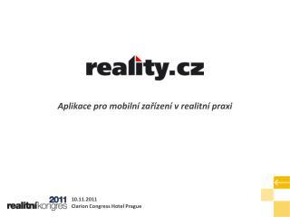 Aplikace pro mobilní zařízení v realitní praxi