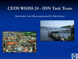 CEOS WGISS 24 - IDN Task Team
