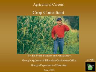 Agricultural Careers Crop Consultant