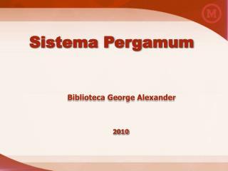 Sistema Pergamum