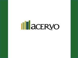 ACERVO La biblioteca de recursos electrónicos del Centro de Estudios en Salud (CES )