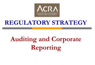 Auditing and Corporate Reporting