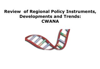 Review  of Regional Policy Instruments, Developments and Trends : CWANA