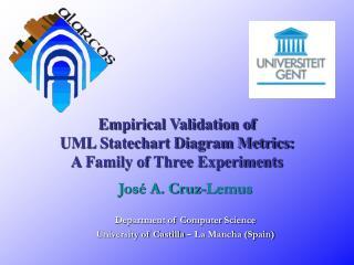 Empirical Validation of  UML Statechart Diagram Metrics:  A Family of Three Experiments