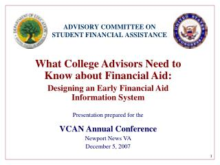 What College Advisors Need to Know about Financial Aid: