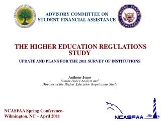 NCASFAA Spring Conference–  Wilmington, NC – April 2011