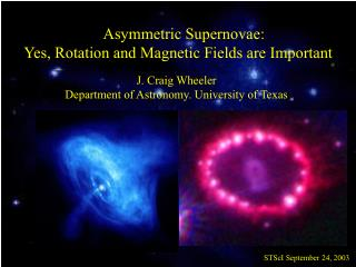 Asymmetric Supernovae:  Yes, Rotation and Magnetic Fields are Important J. Craig Wheeler