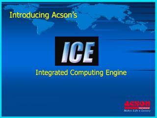 Introducing Acson's