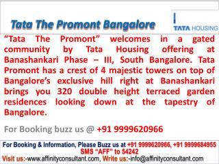 Tata The Promont Banashankari South Bangalore @ 09999620966