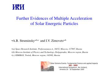 Further Evidences of Multiple Acceleration of Solar Energetic Particles