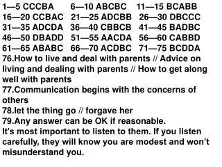 1—5 CCCBA       6—10 ABCBC    11—15 BCABB