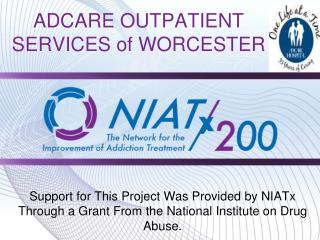 ADCARE OUTPATIENT SERVICES of WORCESTER