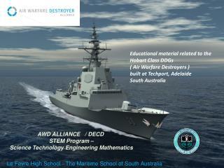 AWD ALLIANCE   / DECD   STEM Program –  Science Technology Engineering Mathematics