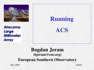 Running ACS