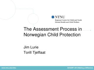 The  Assessment Process  in Norwegian Child  Protection Jim Lurie Torill Tjelflaat