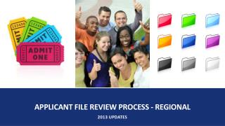 Applicant File Review Process - regional