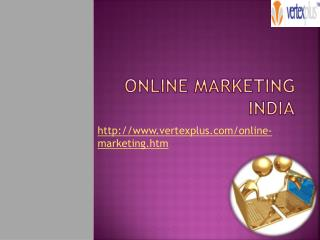 Online marketing India