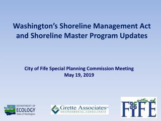 Washington's Shoreline Management Act and Shoreline Master Program Updates