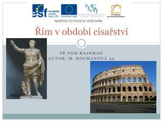 Řím v období císařství